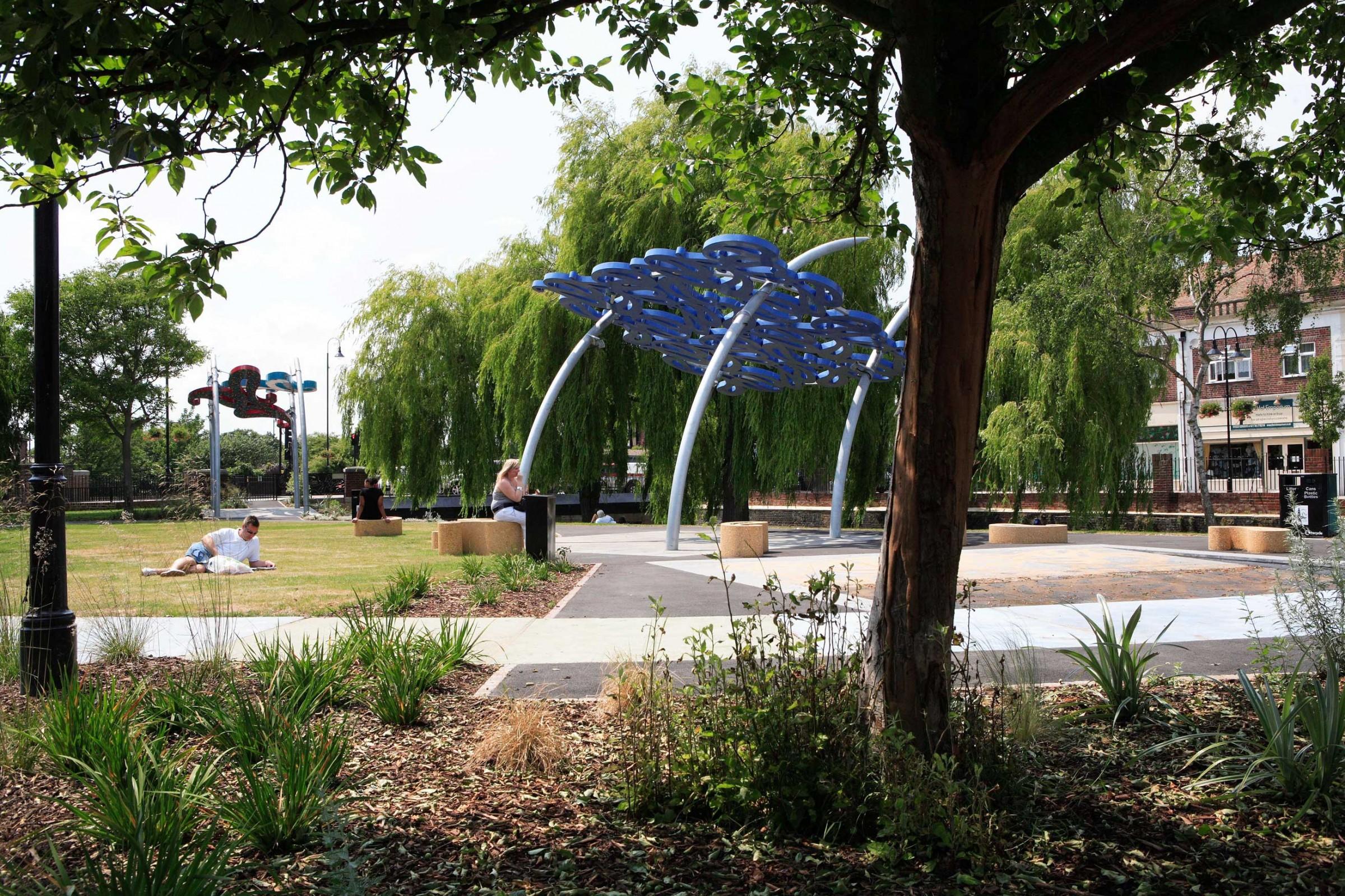 Crayford Waterside Gardens